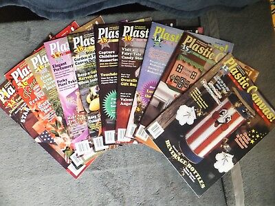 Plastic Canvas Magazine! Back Issues 41 42 44 45 46 47 48 49 50 51 1995-1997