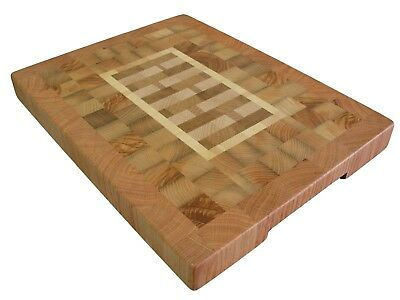 Charcuterie Board, Wooden, Handmade, Cutting Board End Grain with Feet, Kitchen