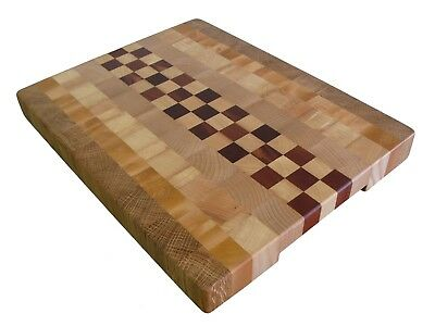 Great Gift, Handmade Cutting Board End Grain, Butcher Block, Cheese Board, Wood