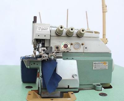 WG 40E4040 OVERLOCK Serger Cylinder Bed 40Thread Industrial Awesome Industrial Serger Sewing Machine