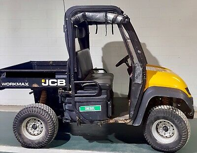 2013 JCB Workmax 800D 4WD (2 Seat) With Cover And Box - Diesel - *Ready To Use*