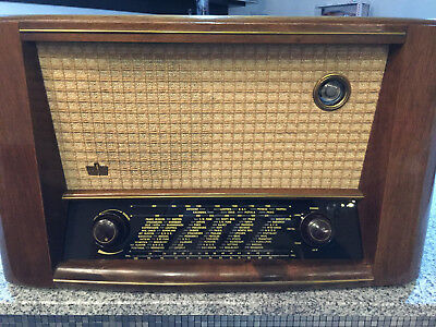 Röhrenradio Braun WUK 735 GERMAN TUBE RADIO MADE IN GERMANY