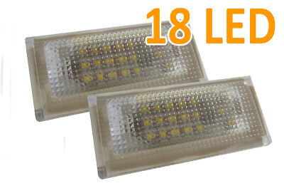 Fits BMW Mini R50 R52 R53 18 Smd LED Rear Number Licence Plate Units Replacement