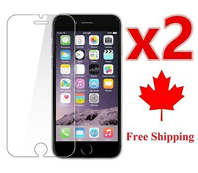 Tempered Glass Screen Protector for Apple iPhone 6 6S 7 8 Plus X XR XS  2Pack