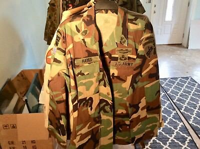 US Army woodland jacket Special Forces Combat Jump