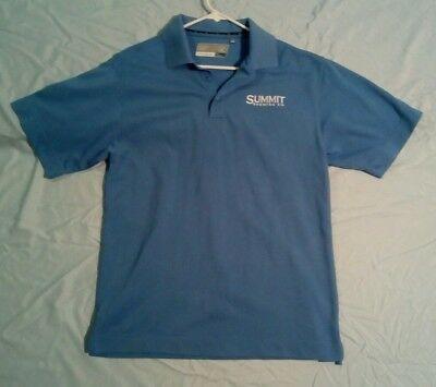 Summit Brewing Company polo shirt small new short sleeves, see pictures
