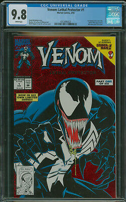 Venom: Lethal protector #1 CGC 9.8 storyline for new Tom Hardy Movie