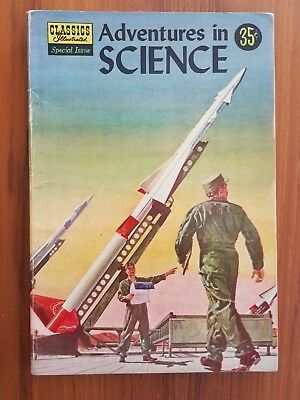 Classics Illustrated  Special Issue: Adventures in Science #138A  Very Fine