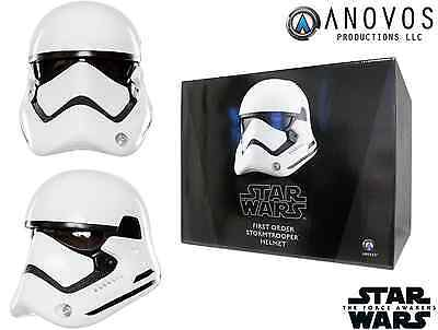 ANOVOS STAR WARS Prop First Order Stormtrooper Prop Replica Helmet New Boxed