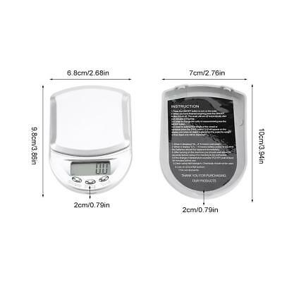 Digital Electronic Pocket Food Weight Scale Mini LCD Kitchen Weighing 0.1g-500g