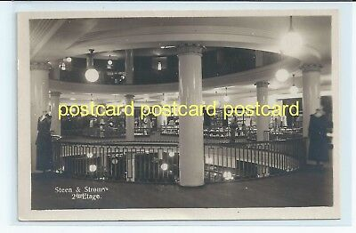 STEEN & STROM DEPARTMENT STORE , NORWAY. OLD POSTCARD c. 1910 #471.