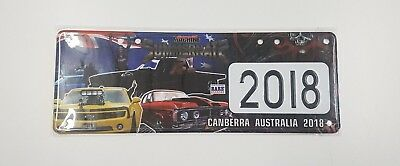 Summernats 31 Number Plate
