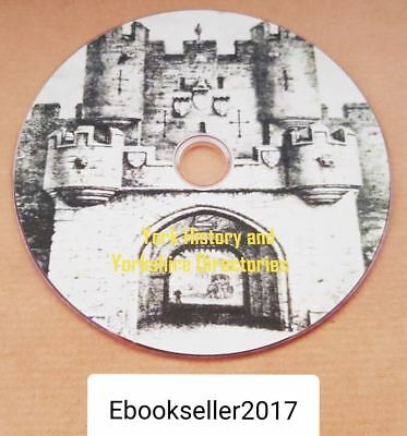 York local history ebooks genealogy & yorkshire directories pdf ebooks: on disc