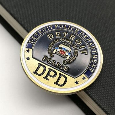 DPD Police Station 2 Collect Commemorative Coin Metal Craft Party DecorationsG