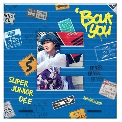 Super Junior D&E-[Bout You] Eunhyuk Ver CD+Booklet+PhotoCard+Free Gift POSTER