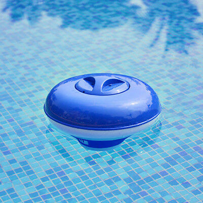 "Pool Spa Chemical Dispenser Floater for 1"" Small Chlorine Bromine Tablets Tabs G"