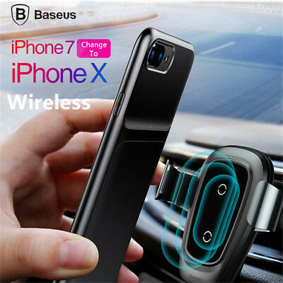 0f16d532df6 Baseus Qi Wireless Charger Receiver Case Für iPhone 7 Plus Fast Charging  Cover
