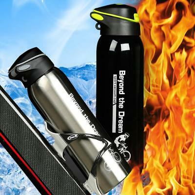 Outdoor Portable 500ML Aluminum Alloy Bicycle Water Bottle Sports Riding Kettle