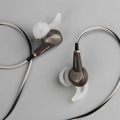 Bose QuietComfort QC 20 20i Acoustic Noise Cancelling earphone for Apple grey