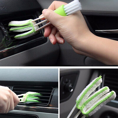 Mini Clean Car Indoor Air-Condition Brush Tool Car Care Detailing For All Car FK