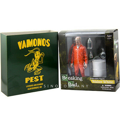 New 6'' Breaking Bad Walter White Vamonos Pest collection Action Figure kid toy