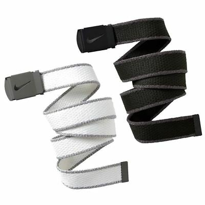 2018 Nike Webbing Golf Belt Durable with Metal Buckle Bottle Opener Fit To Size