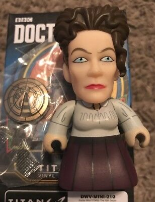 Titans 12th Doctor Who Dr Heaven Sent And Hell Bent Vinyl Missy 2/20 Mini