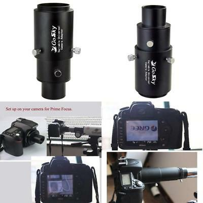 Gosky 1.25 Variable Telescope Camera Adapter For Prime Focus And Eyepiece... New