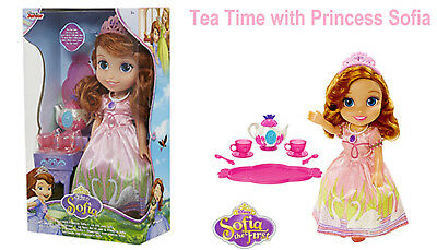 Disney Sofia The First Tea Time With Princess Sofia Toddler Doll Gift For Kid's