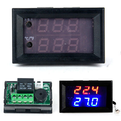 1PC DC 12V Digital LED Microcomputer Thermostat switch Temperature Controller