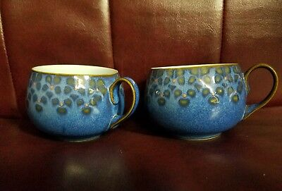 2 Vintage Denby Midnight Tea/Coffee Cup