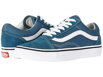 VANS Old Skool Unisex Men Women Corsair Blue White Sneaker