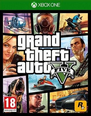 Grand Theft Auto V Xbox One Microsoft GTA5 Online 1 Shooter RPG Multiplayer
