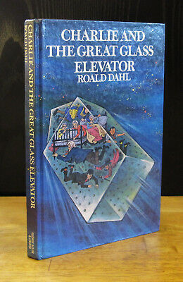 CHARLIE and THE GREAT GLASS ELEVATOR (1973) ROALD DAHL SIGNED, Chocolate Factory