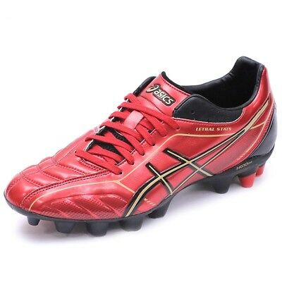 Chaussures Lethal Shot Stats 2 Sk Rugby Rouge Homme Asics
