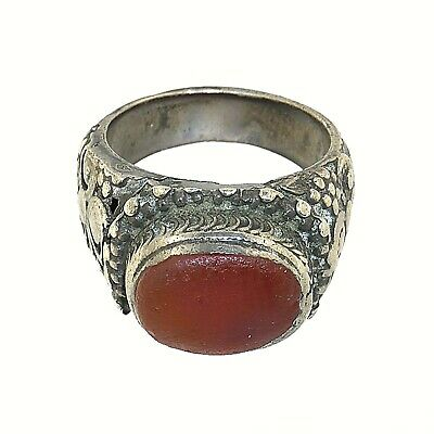 (2212)Antique silver ring from Yemen