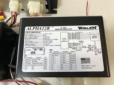 Whelen Alpha / Alpha12R Remote Siren Amplifier Used in Good Condition One (1)
