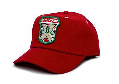 New Embroidered Bushwood Country Club Caddyshack Movie Hat Cap Red Snapback