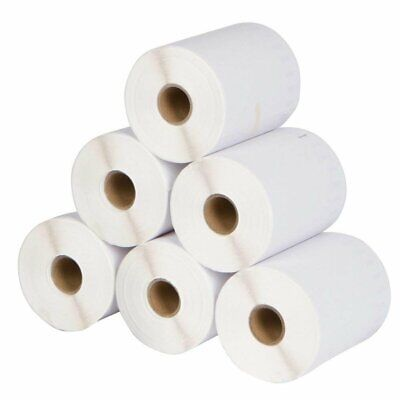 6 Rolls DYMO 4XL Direct Thermal Shipping Labels 4x6 1744907 Compatible 220/Roll