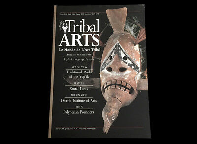 Tribal Art Magazine #11  Winter 1996  Polynesian Pounders  Fatal Beauty African