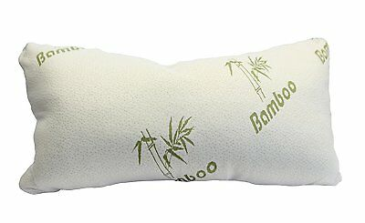 Bamboo Magic Memory Foam Pillow, Maximum Support for Back & Neck - 3 Sizes!