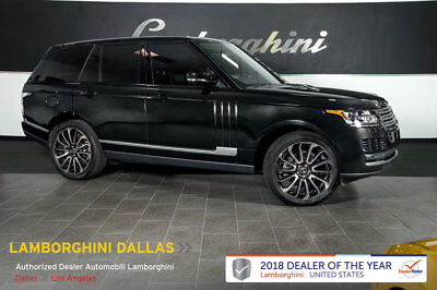 """Land Rover Range Rover  FACTORY CERTIFIED!+NAV+RR CAMERA+HOMELINK+SUNROOF+4 ZONE CLIMATE+22"""" WHEELS"""
