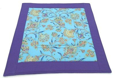Kemetic altar cloth Valley of the Kings Art Deco floral handmade pagan witch