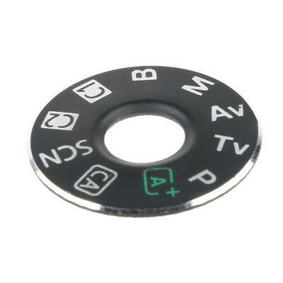 Top Cover Dial Mode Interface Cap Repair Part for Canon EOS 6D Camera + Tape