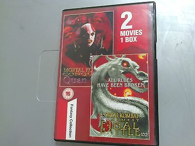 MORTAL KOMBAT FINAL BATTLE & QUANCHI  - DVD  - (tr1)