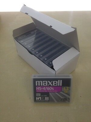 Pack of 10: Maxell HS-4/60s DDS 4mm Data Cartridge NEW SEALED