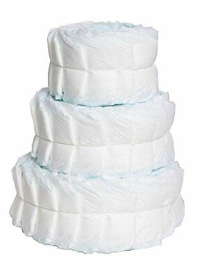 Plain Diaper Cake Decorate Yourself Baby Shower Gift
