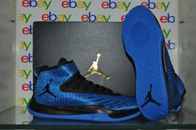 8fbe109af631f Jordan Fly Unlimited AA1282 402 Mens Basketball Shoes Italy Blue Black NIB