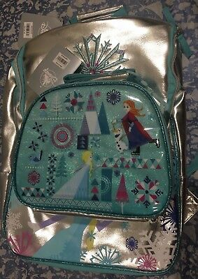 Brand New Disney Frozen School Backpack with Matching Insulated Lunch Tote