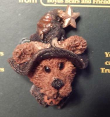 NIP Boyds Bears Folkwear 26304 Pinback Esmeralda the Witch